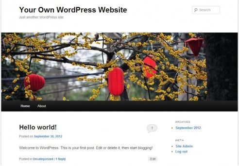 how-to-make-website-with-wordpress