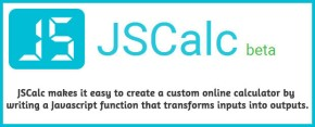 Build a Custom Online Calculator - JSCalc