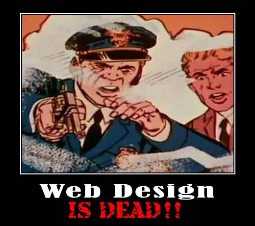 webdesign-is-dead